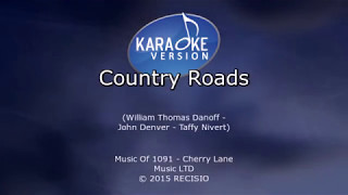 Country Roads -- Hermes House Band Karaoke