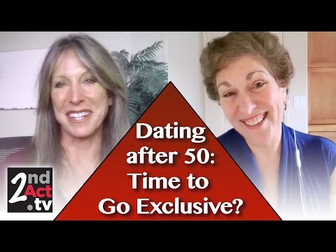 Advice for Women Dating after 50: When Do You Ask to be Exclusive?