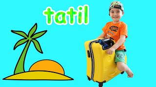 Yusuf Tatile Gidiyor! Fun Kids Video