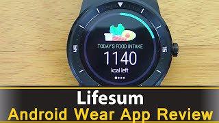 Lifesum Calorie Counter - Android Wear App Review
