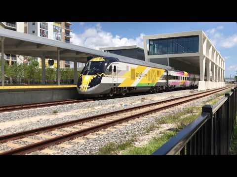 South Florida Railfanning-Amtk-Brightline-TriRail