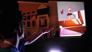 BLOCK / interactive video mapping 3D / Rzeszów Wschód Kultury