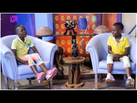 KSM Show- Meet the twins who woke up one day and suddenly started speaking English