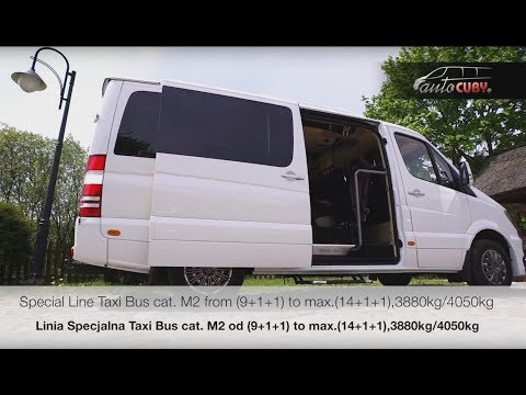 Sprinter CUBY Special Line TaxiBus M2 (max. 14+1+1)