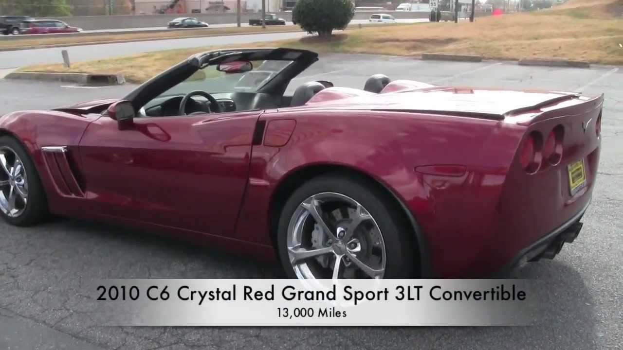 2010 corvette grand sport 3lt convertible youtube. Black Bedroom Furniture Sets. Home Design Ideas