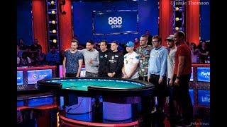 2018 WSOP Main Event: The Final Nine is Set in Epic Fashion!