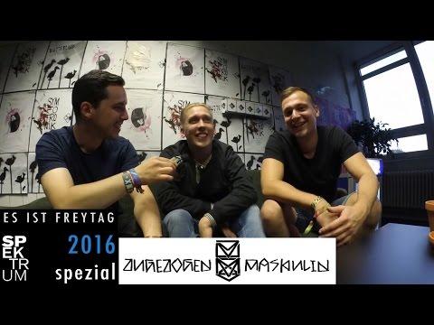 Interview • Zugezogen Maskulin   Spektrum Festival 2016, Buback, Entstehung & Entwicklung, GUDG