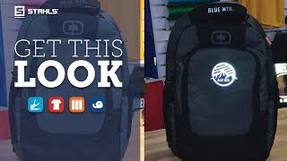 How to Get This Look: High Visibility Backpack with Reflective