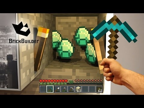 minecraft-real-life---diamonds-at-home