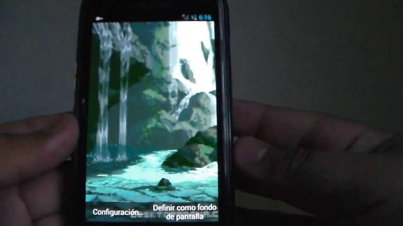 3b76303ceb5 Poner Imagenes Gif Como Fondo De Pantalla (Android - YouTube