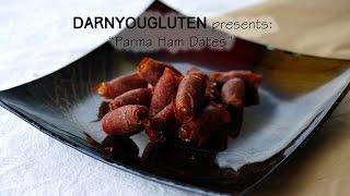 Almond Stuffed Dates Wrapped In Parma Ham   Gluten Free
