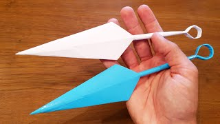 How To Make a Paṗer Kunai - Ninja Origami