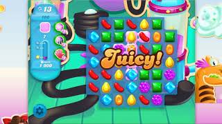 Candy Crush Soda Saga - Level 166 - No boosters