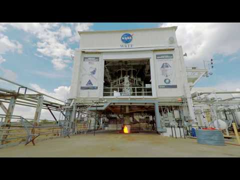 Watch NASA's Orion spacecraft engines show off their awesome power