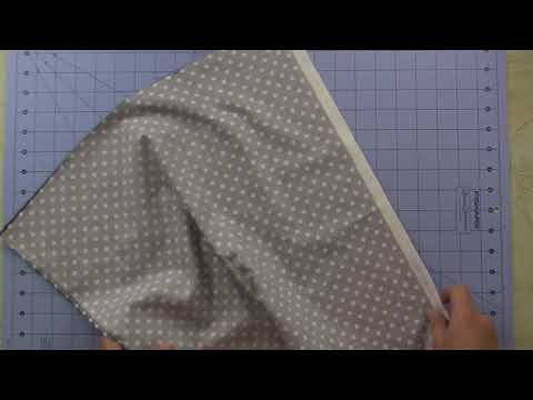 Piecing Backing With Non-Diretional Fabric
