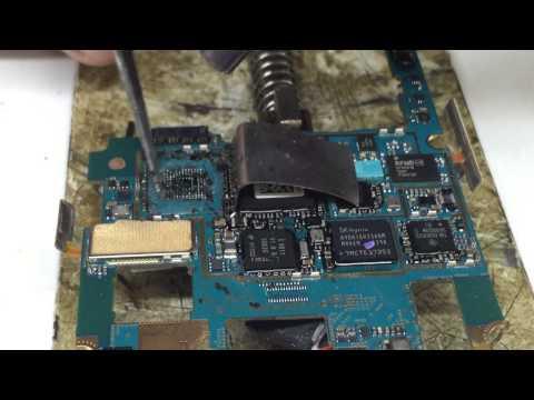cara melepas ic eMMC yang di lem