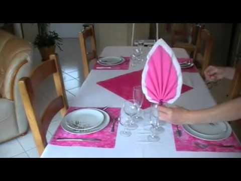 Une Décoration De Table Dominante Rose ... !!