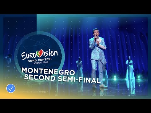 Vanja Radovanović - Inje - Montenegro - LIVE - Second Semi-Final - Eurovision 2018