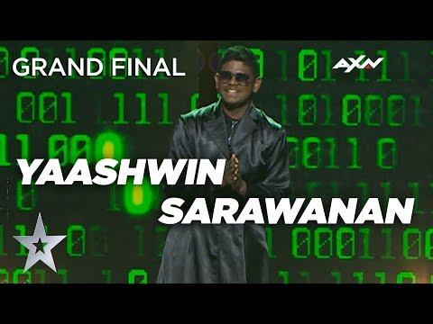 YAASHWIN SARAWANAN (Malaysia) Grand Final - VOTING CLOSED | Asia's Got Talent 2019 on AXN Asia