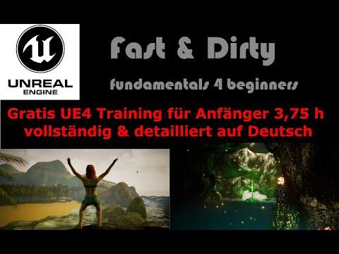 Unreal Engine 4 Tutorial Deutsch Beginner thumbnail
