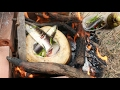 Amazing Children Cook Fish With Coconut - How To Cook Fish In Cambodia - Delicious Food