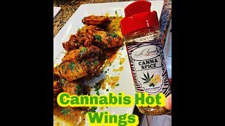 How to make Cannabis Hot Wings by Spice King Keith Lorren