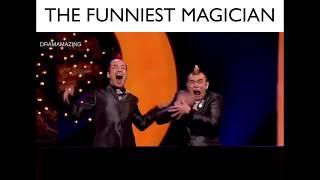 Hai thánh hài lầy Nhật Bản và màn trình diễn cười té ghế - The Funniest Magician