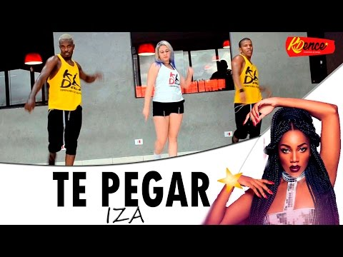 Te Pegar - IZA | Coreografia ( James William ) KDence