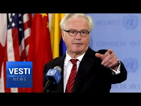 """Churkin's """"NO""""!  Serbs Put Up Monument in Memory of Ambassador's Veto in the UN Security Council"""