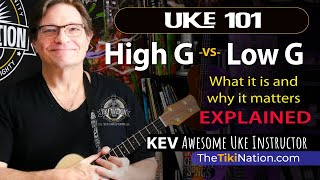Low G and High G ukulele strings explained! Which is better?
