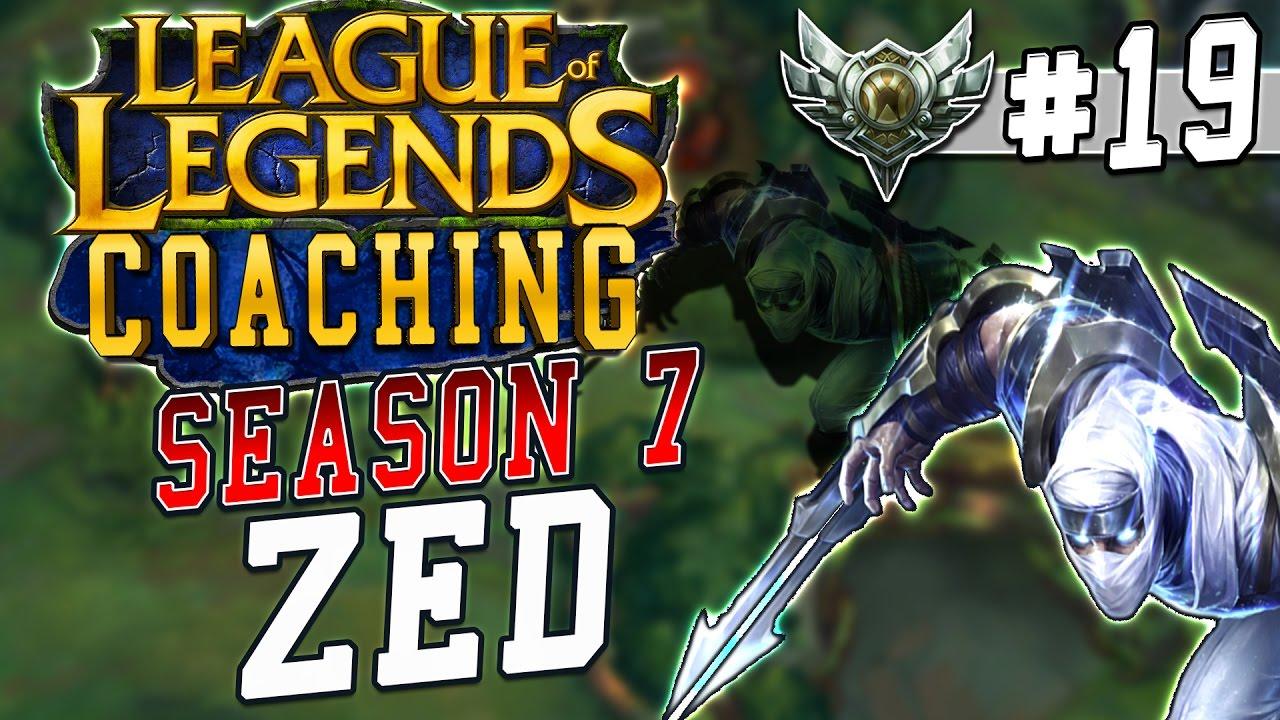 S7 LoL Coaching #19 - Zed Mid vs. Ryze (Silver 1)