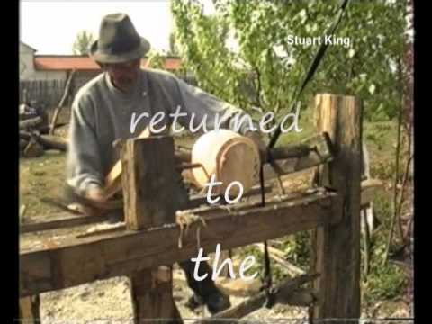 Romanian Pole Lathe