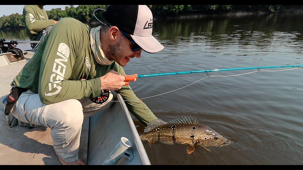 Pesca de Tucunarés no Rio Abacaxis (Amazon Legend 2019 - Parte 1)
