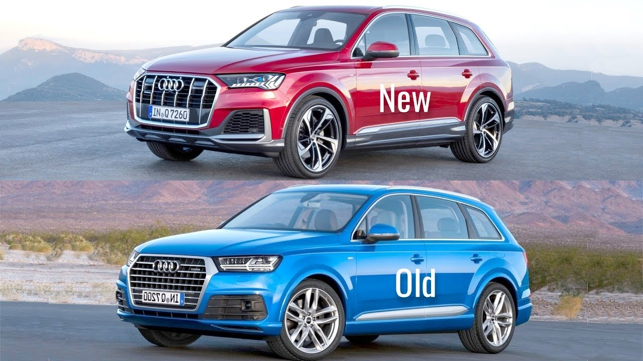 2020 Audi Q7 vs Old Audi Q7 - YouTube