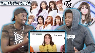 an Unhelpful Guide to Twice members | REACTION