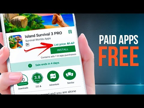 LEGALLY! How To Get Paid Games\Apps FREE From Google Play Store