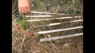 Делаем веерную картофеле копалку для самодельного трактора.
