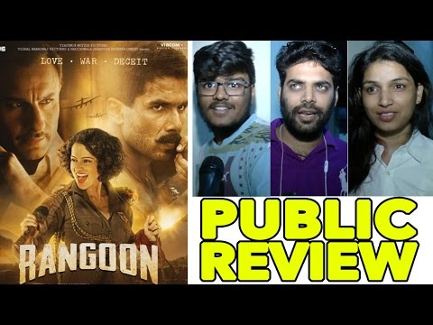 Rangoon First Day First Show Public Review | Kangana Ranaut, Shahid Kapoor, Saif Ali Khan