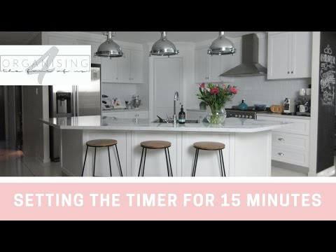 15 minute tidy up