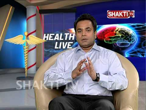 Dr Sudeep Jain speaking on spinal problems on Shakti T V