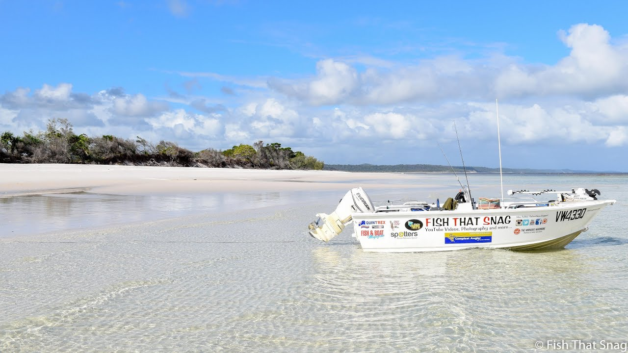 Boating to Wathumba Creek, Fraser Island -Day Trip Information VLOG