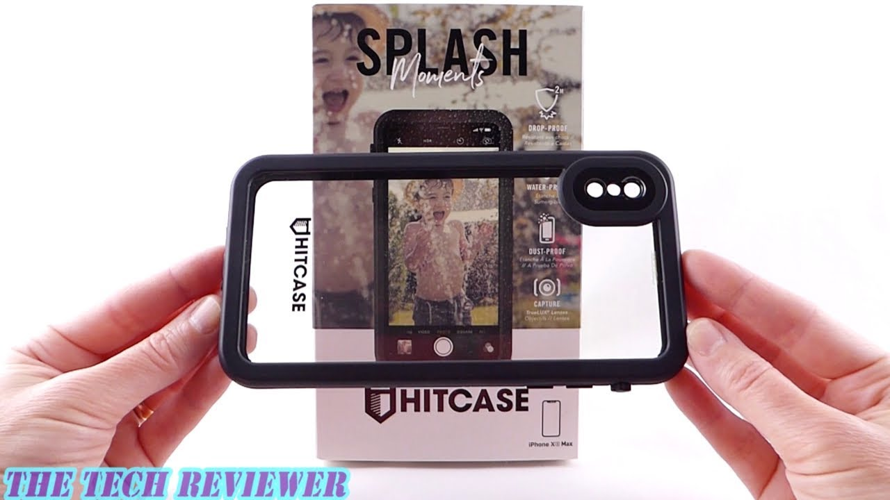 big sale 66b5c d7371 Hitcase Splash: Crystal Clear Waterproof Mil-Spec Protection for iPhone Xs  Max!