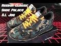 G.I. JOE/SHOE PALACE REEBOK CLASSICS UNBOXING & REVIEW!!