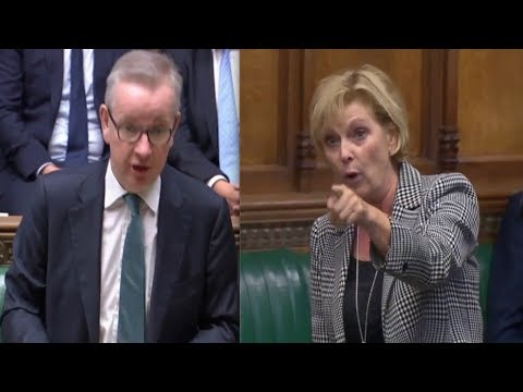 "Parliament is back, Minister Gove mocks angry Anna Soubry on ""Operation Dodo and Operation Blue Tit"""