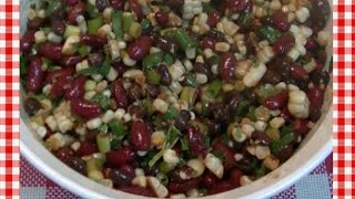 Bean And Roasted Corn Salsa Recipe ~ Noreen's Kitchen