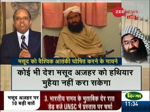 Breaking News: UNSC meet today on declaring Azhar a global terrorist