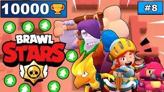 Spróbuje wbić 1000 pucharków w 7 godzin! DZIEŃ 8! BRAWL STARS