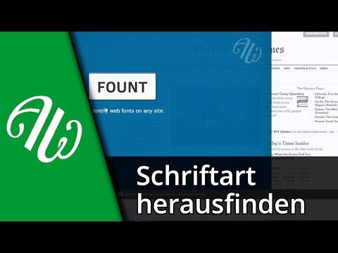 Tutorial | Schriftart Auf Webseite Herausfinden [Deutsch/HD]