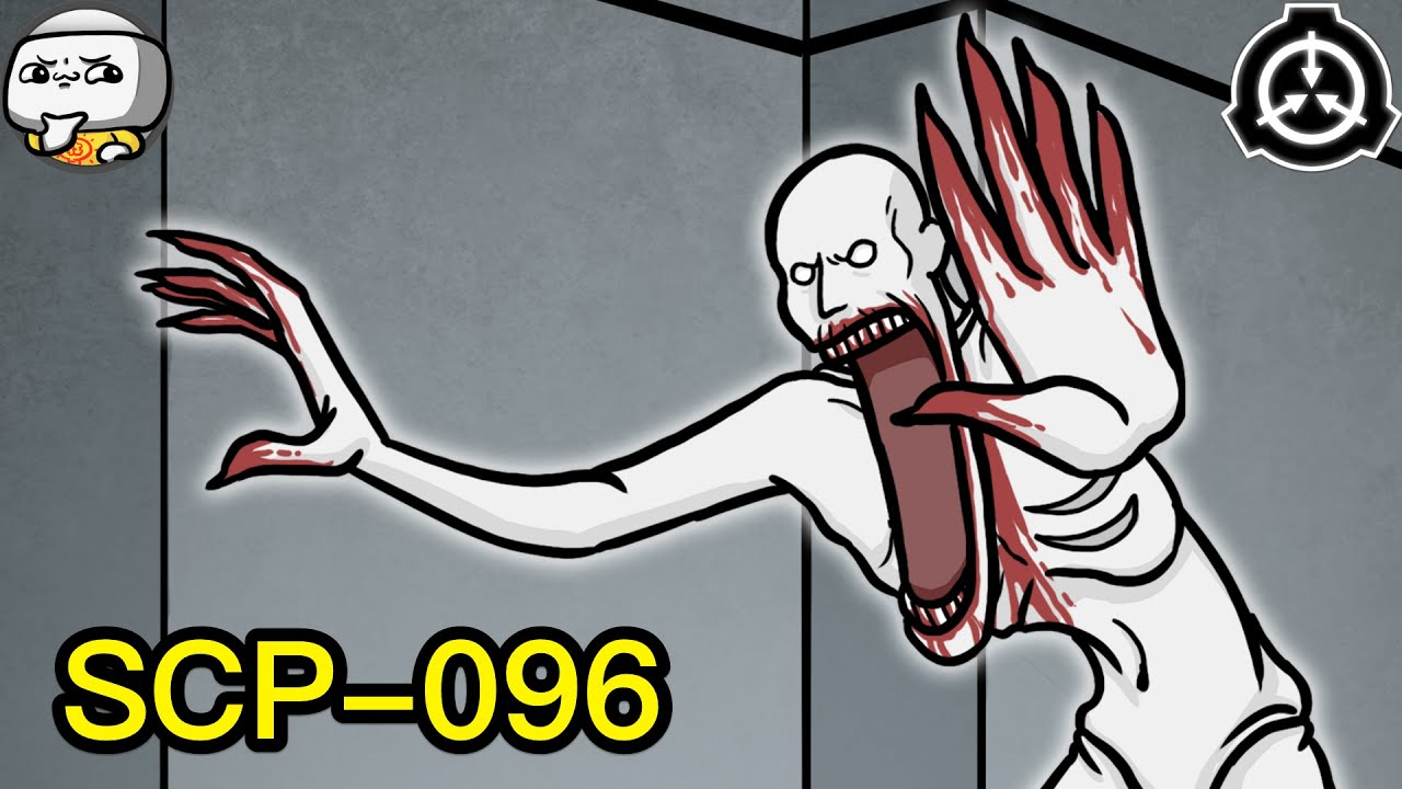 Scp 096 The Shy Guy Scp Animated Youtube