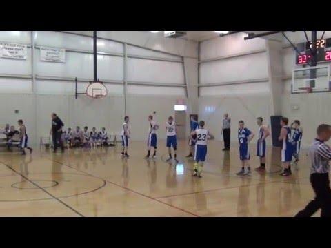 Northern Plains Christian Academy vs. Fellowship Baptist School Boys Basketball Championship